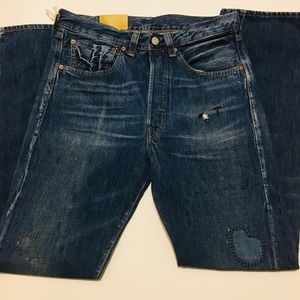 LEVIS VTG CLOTHING blue 501 CONE Jeans 31x32 LVC